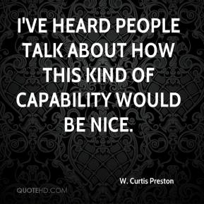 W. Curtis Preston  - I've heard people talk about how this kind of capability would be nice.