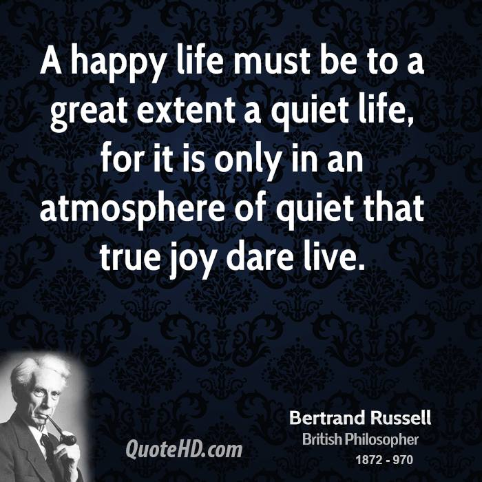 road to happiness by bertrand russell The conquest of happiness, 1930, by bertrand russell  japanese translation of the conquest of happiness  external discipline is the only road to happiness for.