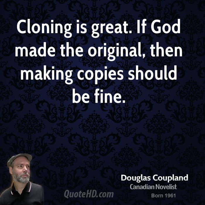 essay against cloning