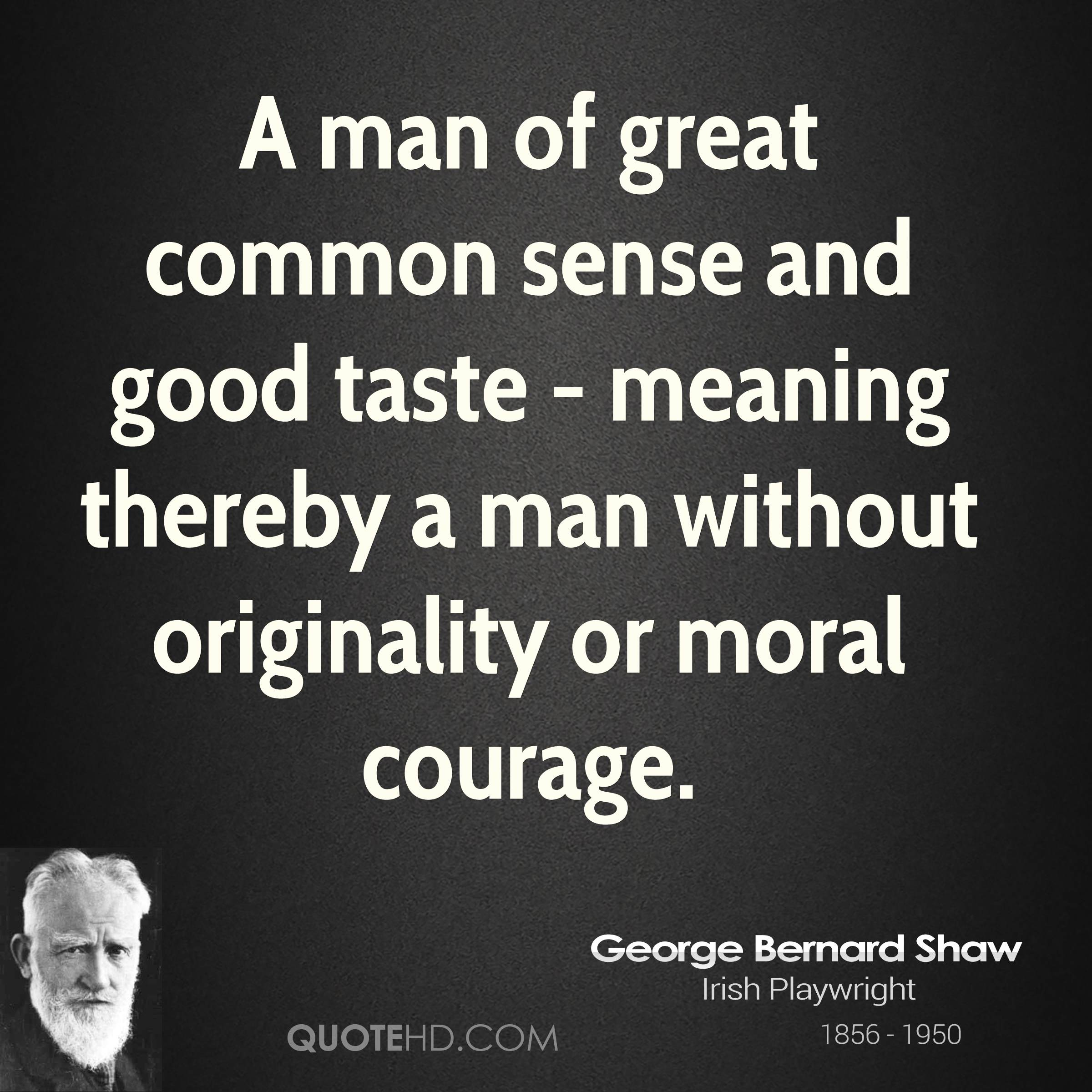 Meaning Of Quote: George Bernard Shaw Quotes