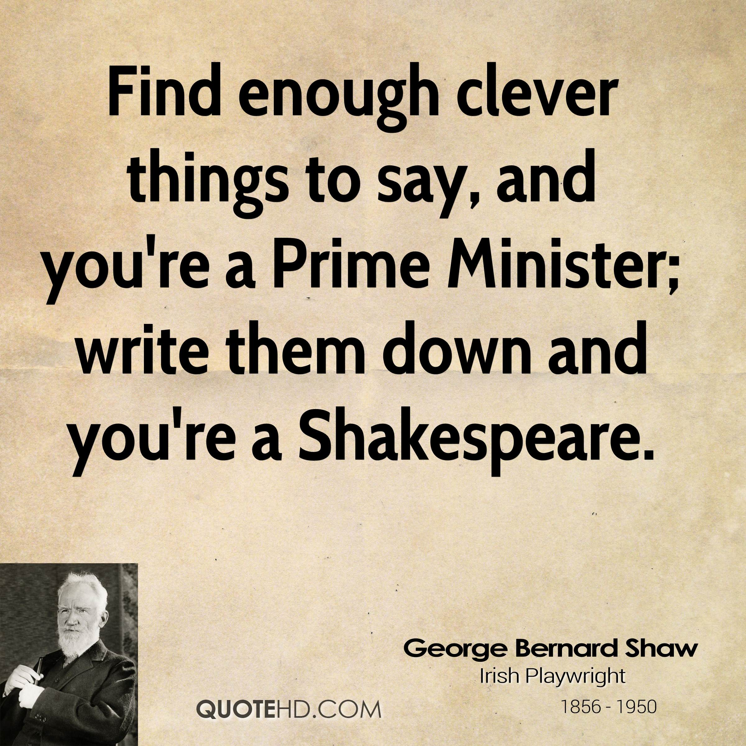 George Bernard Shaw Quotes Quotehd