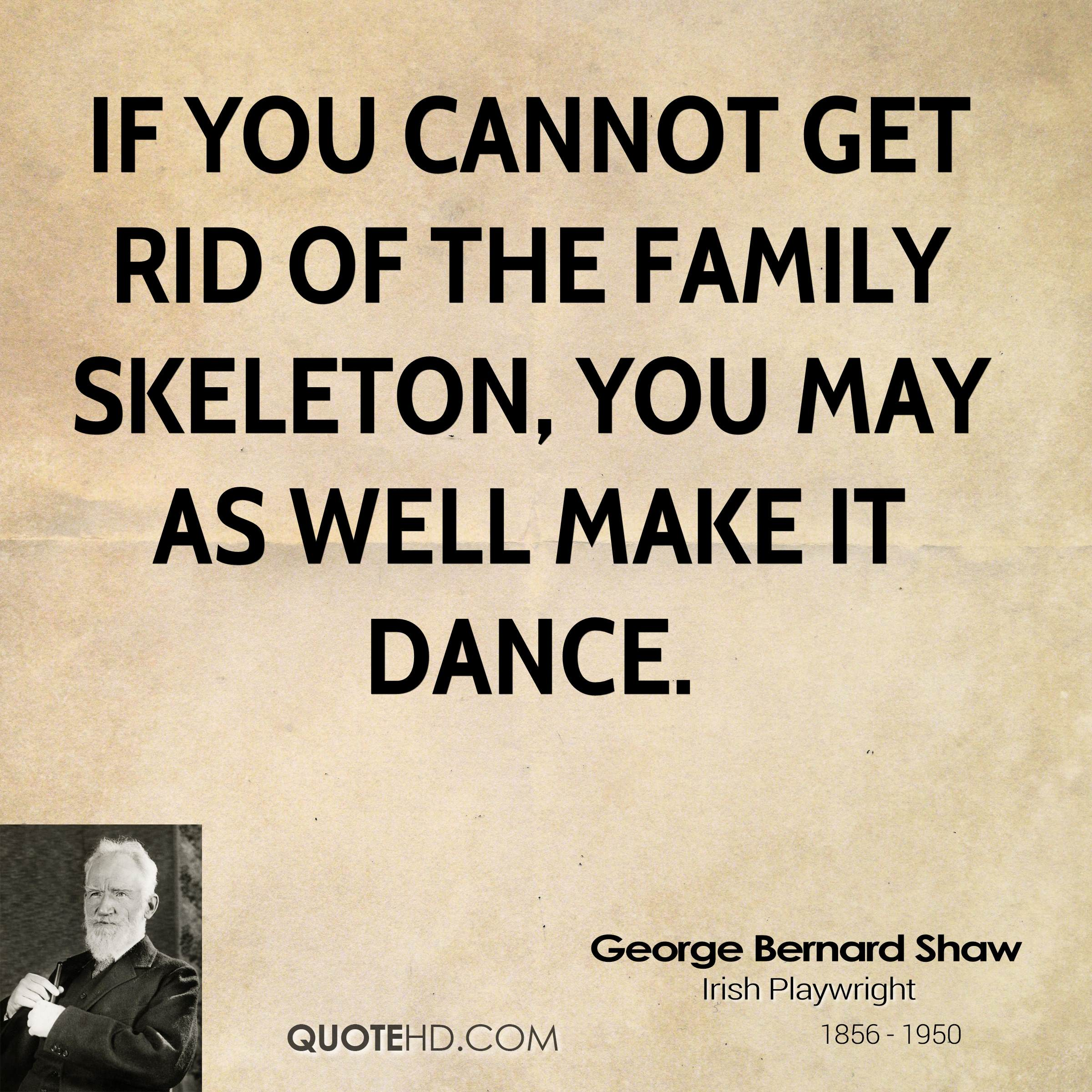Family Quote George Bernard Shaw Family Quotes  Quotehd
