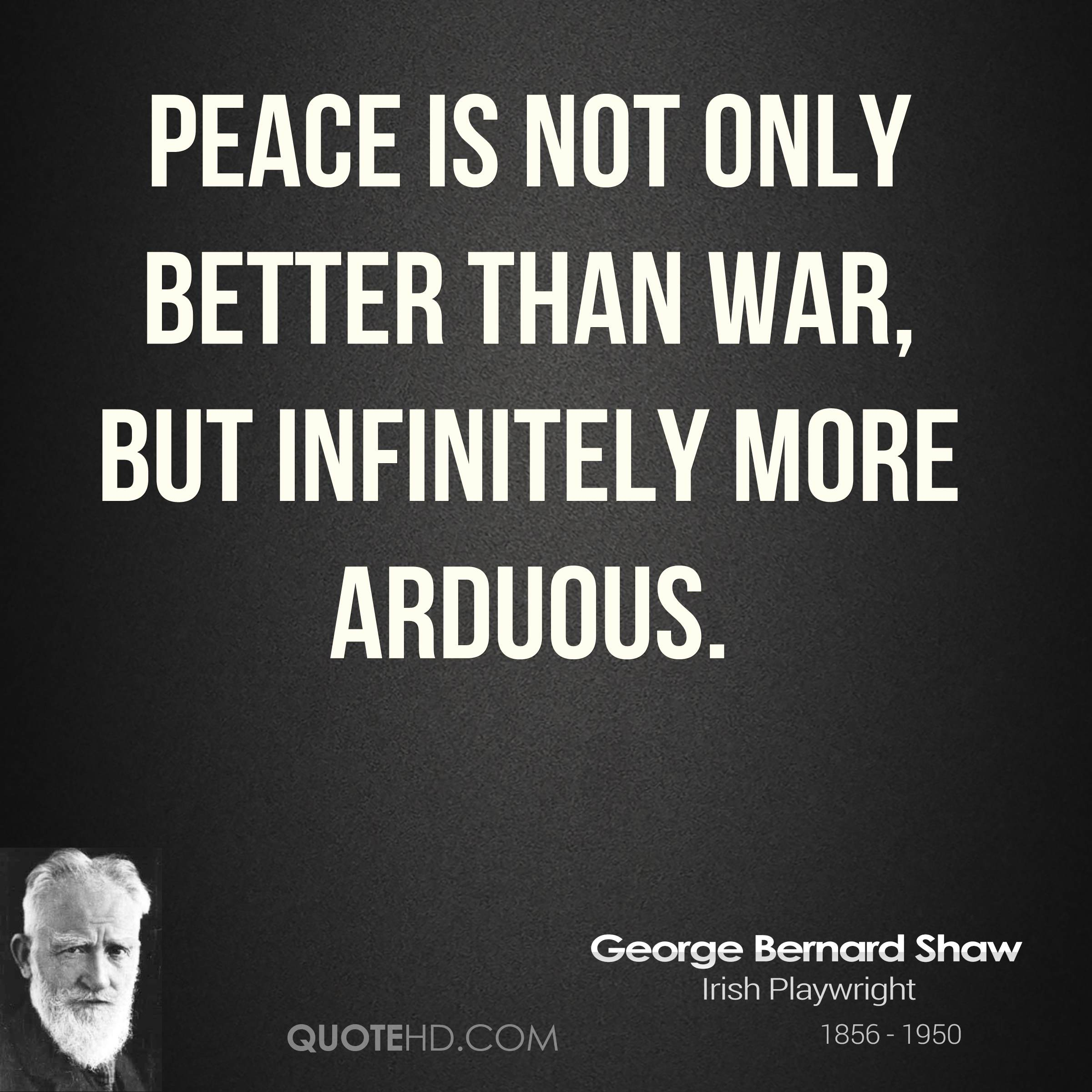 essay on wars are not good The case against preemptive war this essay proposes to confront this case for preemptive war on iraq head on if this seems not good enough.