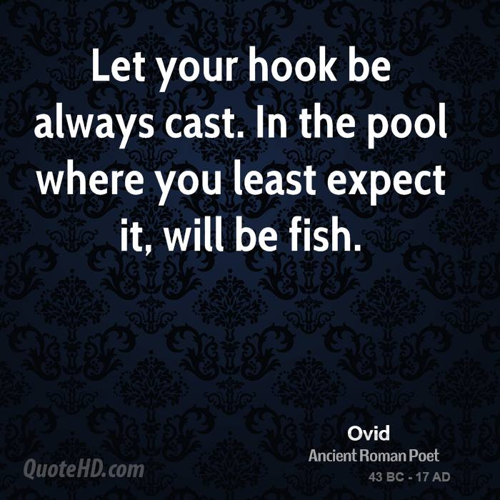 Love When You Least Expect It Quotes: Ovid Quotes. QuotesGram