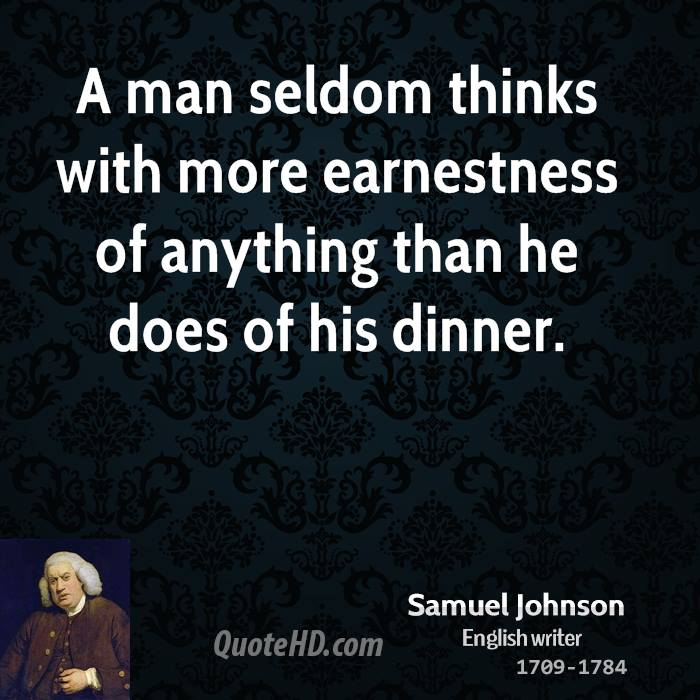 a biography of samuel johnson the most distinguished man of letters in english history Samuel johnson 6,510 likes samuel johnson, often referred to as dr johnson, was an english writer who made lasting contributions to english literature.