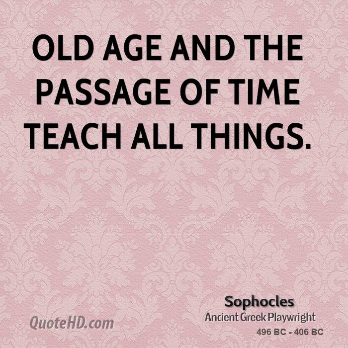 Sophocles Time Quotes Quotehd