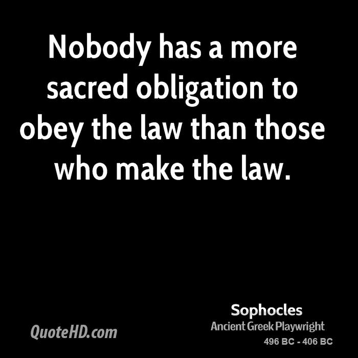 why should we obey the law jurisprudence