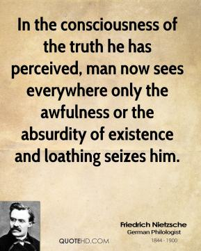 nietzsche on consciousness A full-text lecture that discusses the connection between the thought of nietzsche lecture 3: nietzsche mental activity that is independent of consciousness.