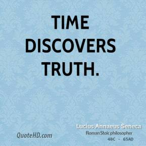 Time discovers truth.