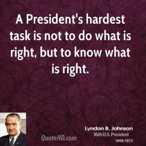 essay on lyndon b johnson