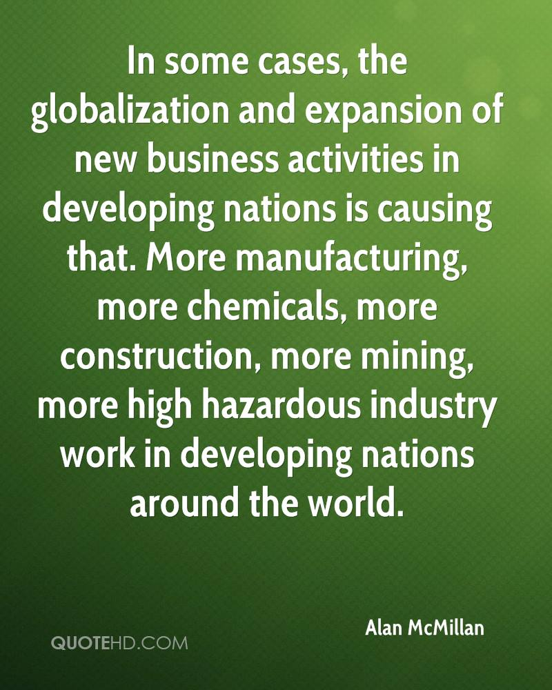 globalization and following quote