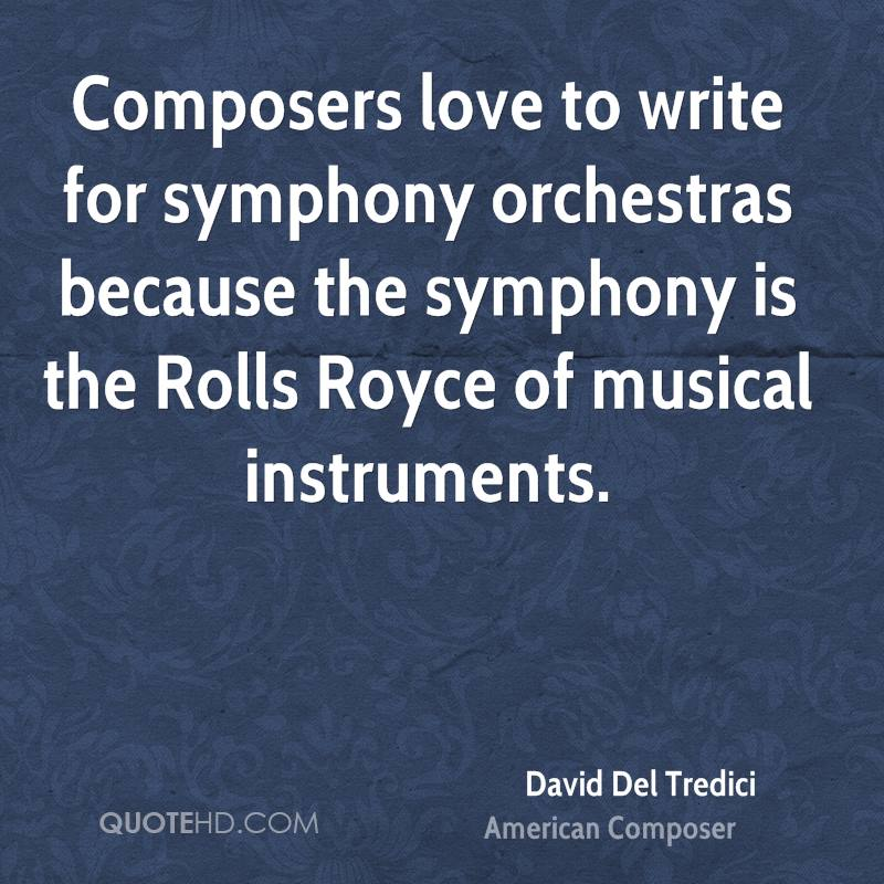 Best composer to write about