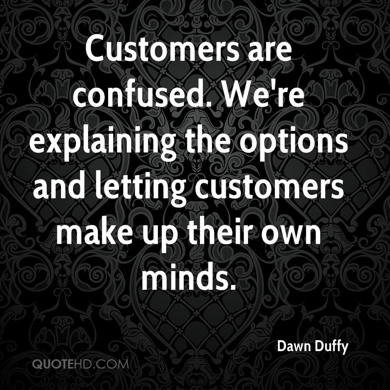 Dawn Duffy Quotes QuoteHD Interesting Quotes On Confused Mind