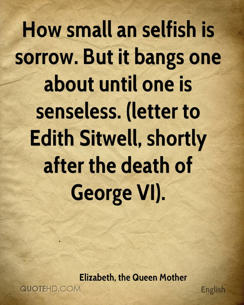 sorrow letter for death