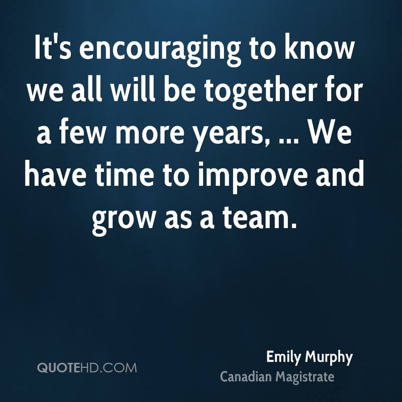 Inspirational Quotes About Failure: Emily Murphy Quotes