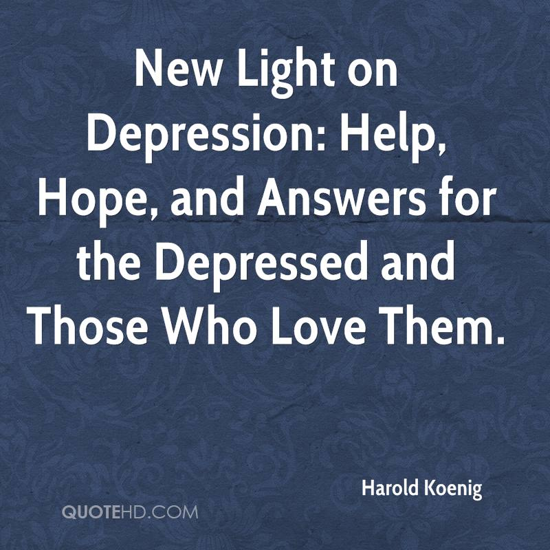 Quotes About Depression: Hope Quotes From Depression. QuotesGram