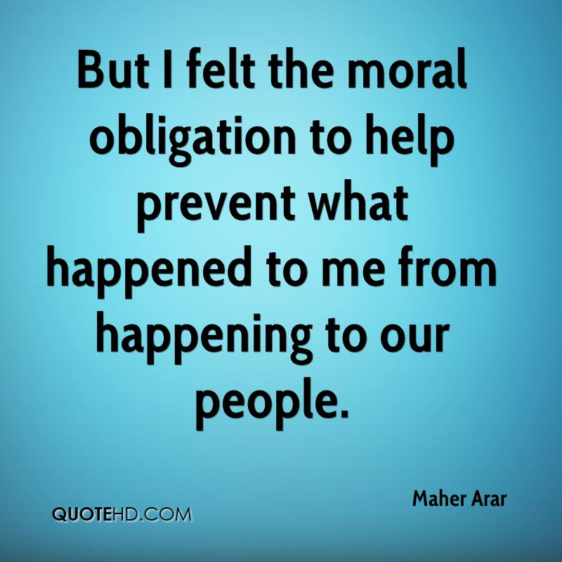 moral obligation of living in a democratic society Primary responsibility for the cultivation of ethical behavior and the development of private character, including moral character, lies with families, religious institutions, work settings, and the other parts of civil society.
