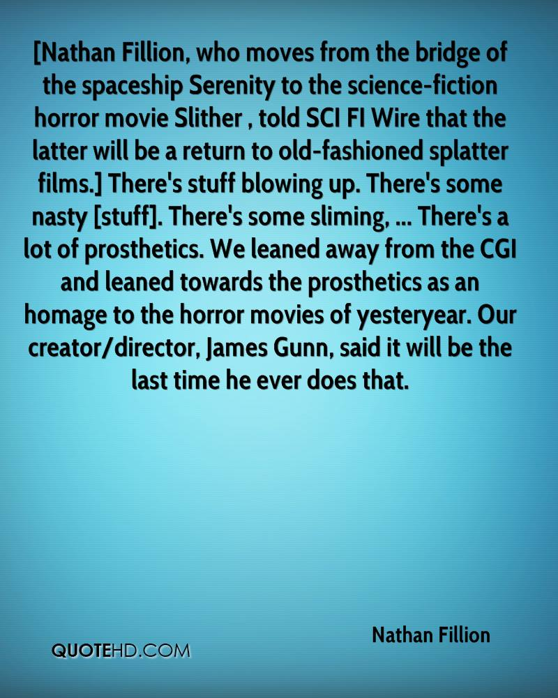 Serenity Movie Quotes: Nathan Fillion Quotes