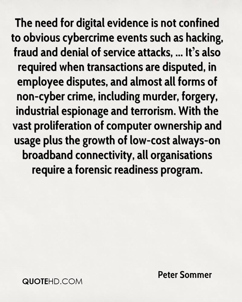 Development and impact of cyber crime