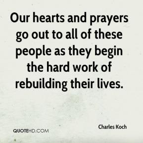 Our hearts and prayers go out to all of these people as they begin the hard work of rebuilding their lives.