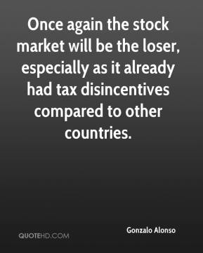 Gonzalo Alonso - Once again the stock market will be the loser, especially as it already had tax disincentives compared to other countries.
