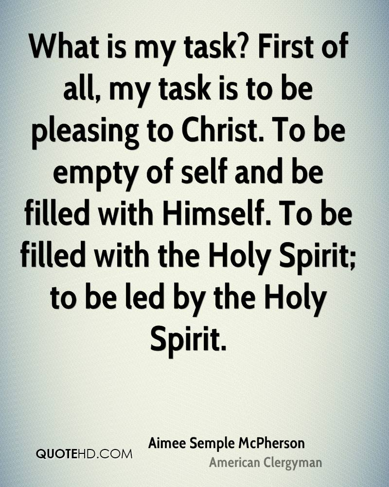 Quotes About The Holy Spirit Aimee Semple Mcpherson Quotes  Quotehd