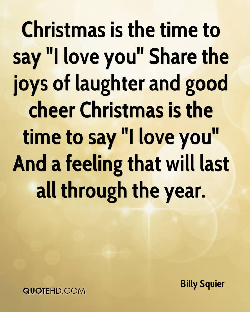 Billy Squier Christmas Quotes | QuoteHD