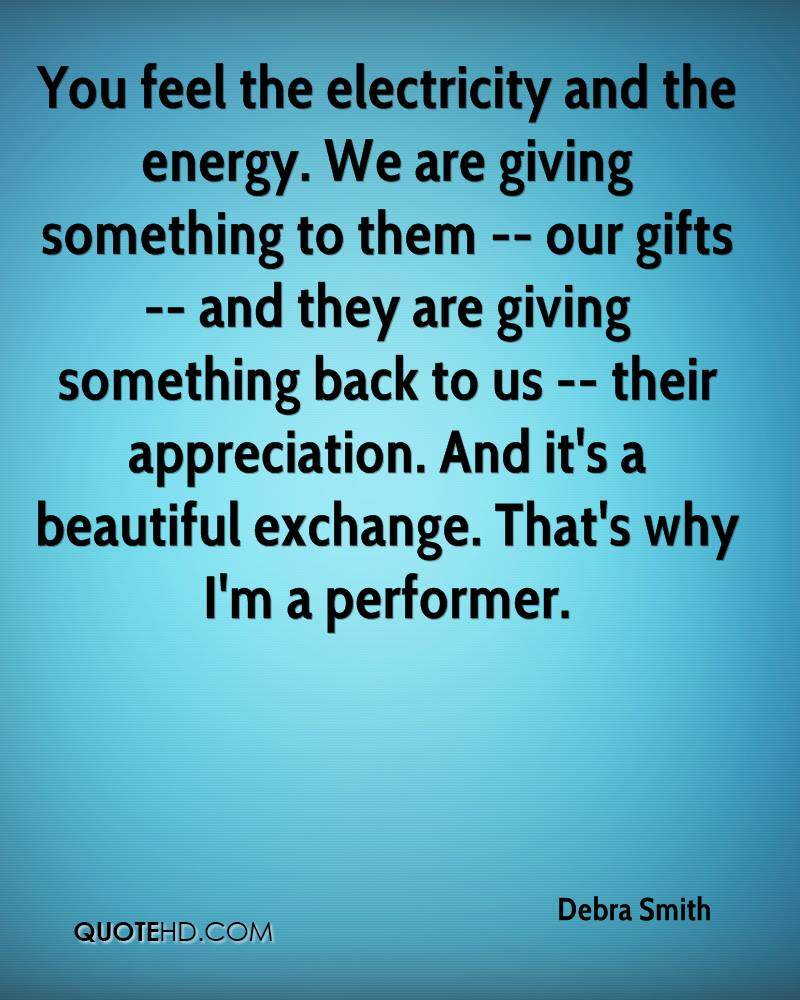 Energy Quotes Debra Smith Quotes  Quotehd