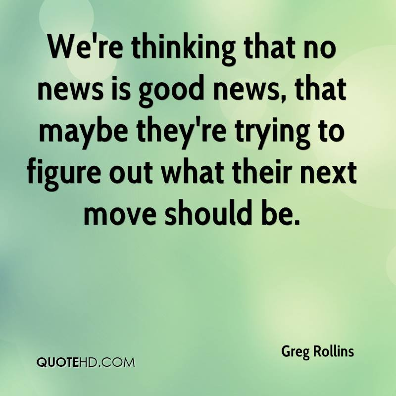 Greg Rollins Quotes   QuoteHD