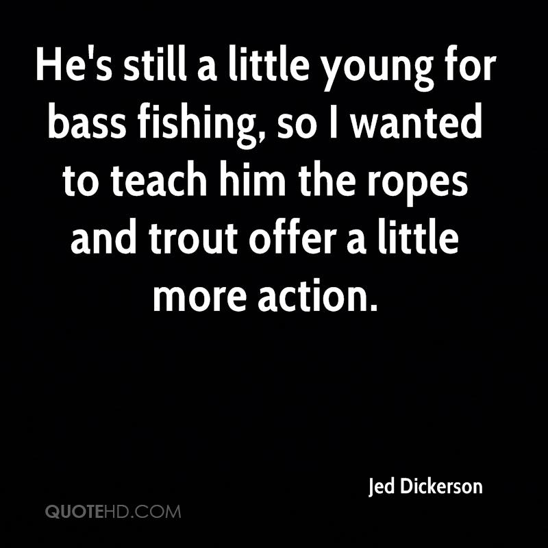 He's still a little young for bass fishing, so I wanted to teach him the ropes and trout offer a little more action.