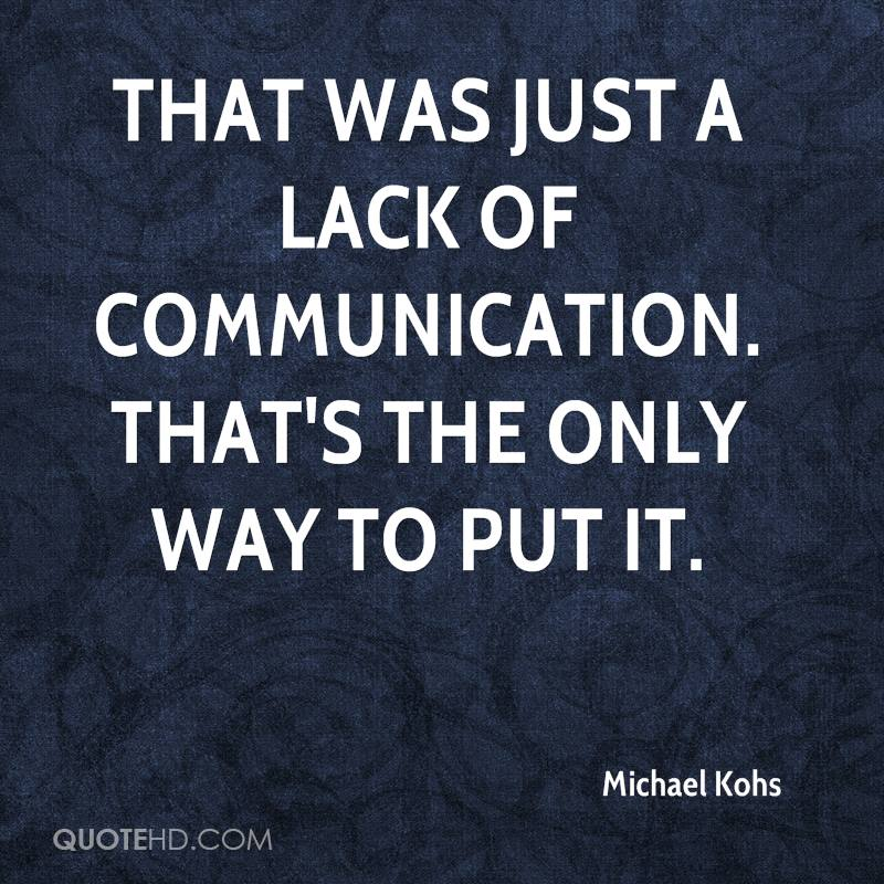 cause lack of communication in a relationship Lack of communication in a relationship lack of communication is the root cause for most relationships problems communication is the key foundation in a relationship  without its presence or absence, it affects the physical health.