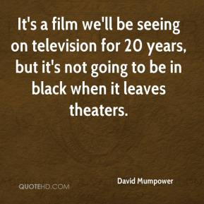 David Mumpower - It's a film we'll be seeing on television for 20 years, but it's not going to be in black when it leaves theaters.