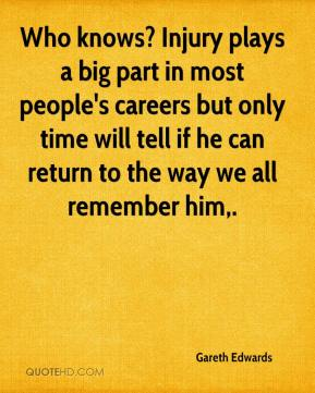 Who knows? Injury plays a big part in most people's careers but only time will tell if he can return to the way we all remember him.