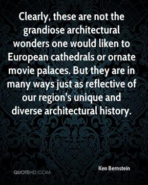 Clearly, these are not the grandiose architectural wonders one would liken to European cathedrals or ornate movie palaces. But they are in many ways just as reflective of our region's unique and diverse architectural history.