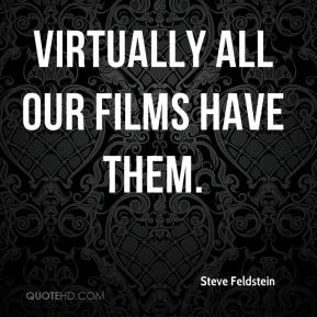 Virtually all our films have them.