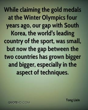While claiming the gold medals at the Winter Olympics four years ago, our gap with South Korea, the world's leading country of the sport, was small, but now the gap between the two countries has grown bigger and bigger, especially in the aspect of techniques.