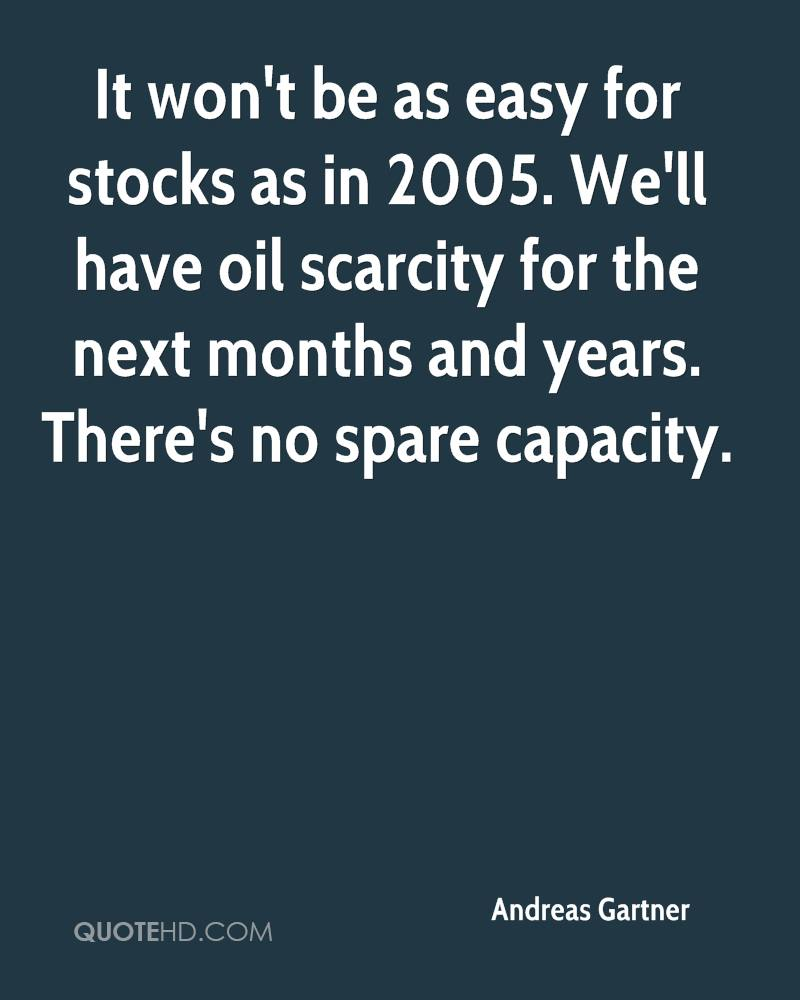 Oil Stock Quote: Andreas Gartner Quotes