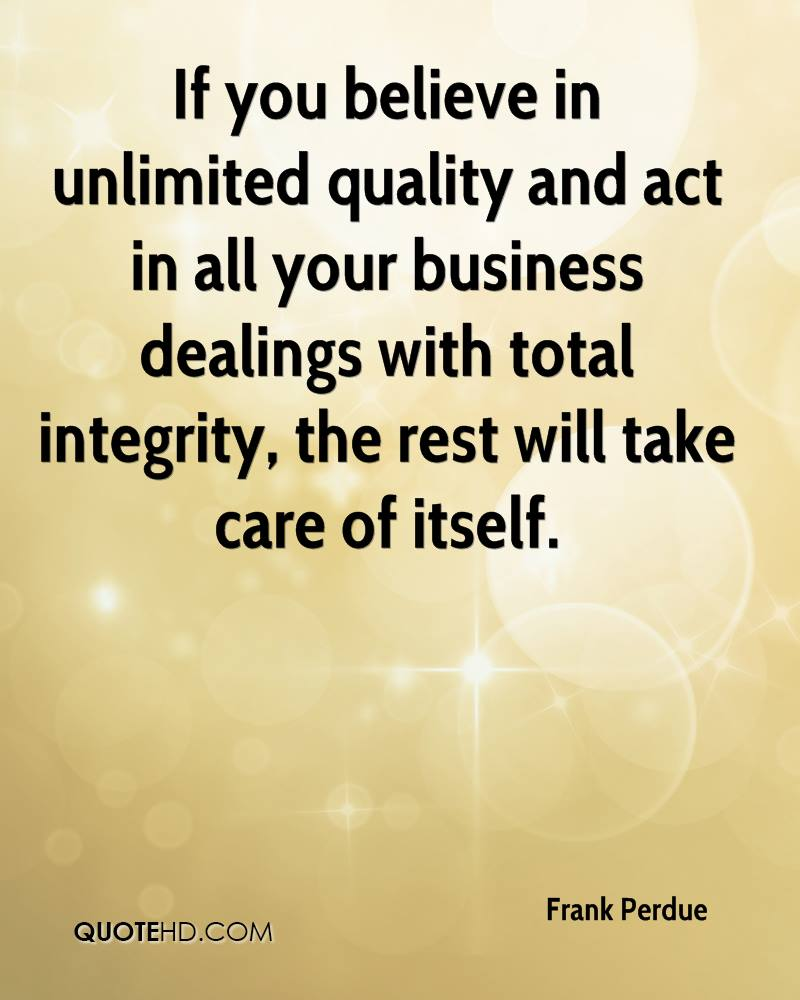 Quotes Quality Frank Perdue Quotes  Quotehd