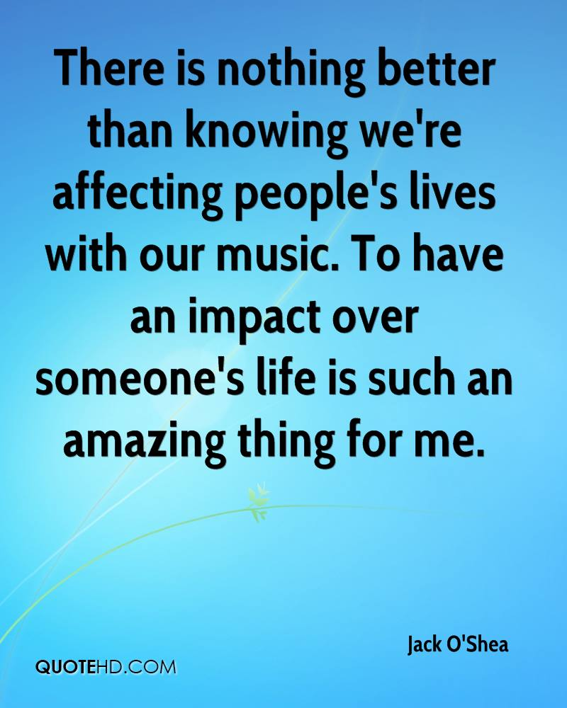 impact of music on life