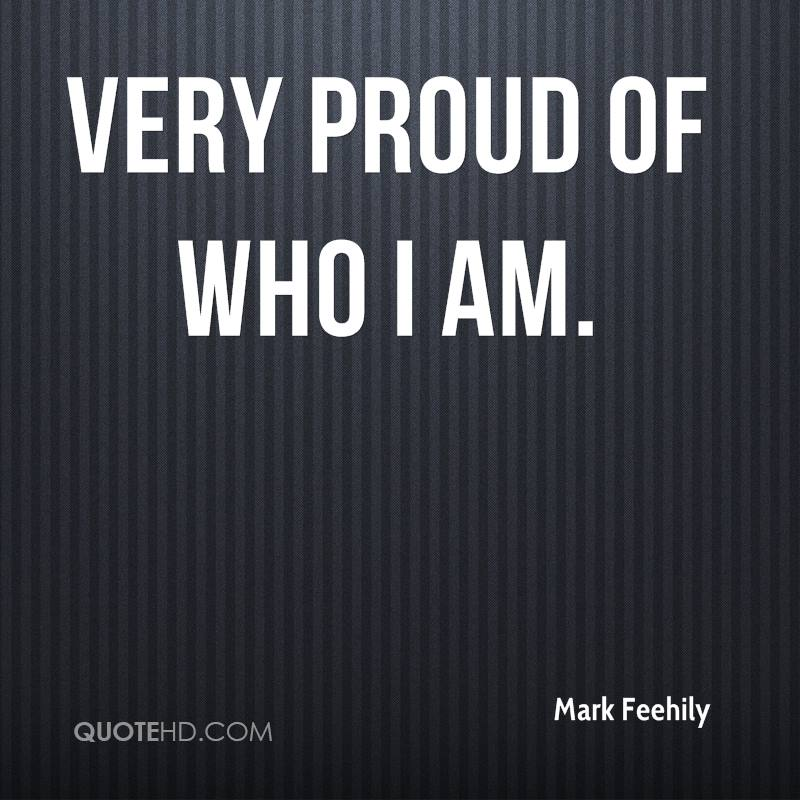 i am proud of who i am essay Say that you get an essay back from a professor you are hurt to find that your grade is a c- and that the instructor says your ideas are hard to follow rather than becoming angry, reread the paper with a fresh mind.