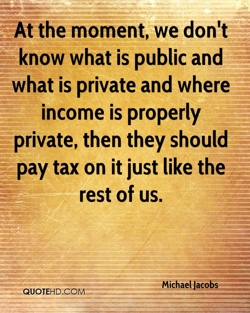 private and public and what they