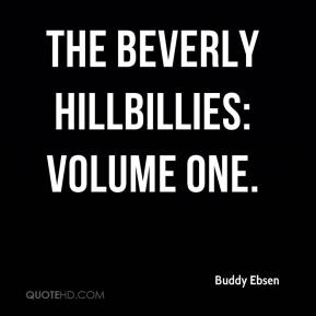 Buddy Ebsen - The Beverly Hillbillies: Volume One.