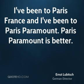 I've been to Paris France and I've been to Paris Paramount. Paris Paramount is better.