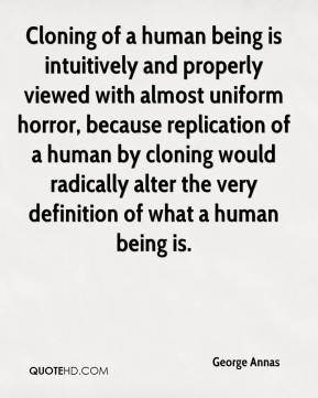 The meaning of being human