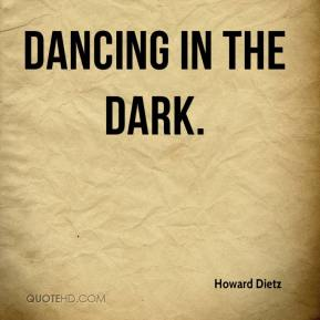 Howard Dietz - Dancing in the Dark.