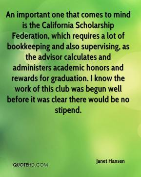 Janet Hansen  - An important one that comes to mind is the California Scholarship Federation, which requires a lot of bookkeeping and also supervising, as the advisor calculates and administers academic honors and rewards for graduation. I know the work of this club was begun well before it was clear there would be no stipend.