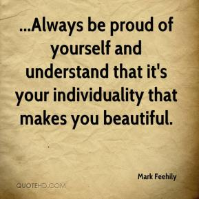 Essay about being proud of yourself