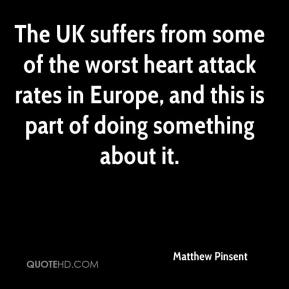 Matthew Pinsent  - The UK suffers from some of the worst heart attack rates in Europe, and this is part of doing something about it.