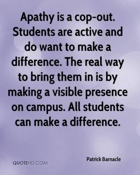 student apathy Apathy definition, absence or suppression of passion, emotion, or excitement see more.