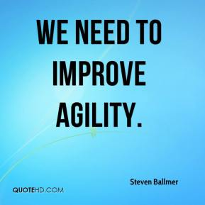 Speed and agility quotes